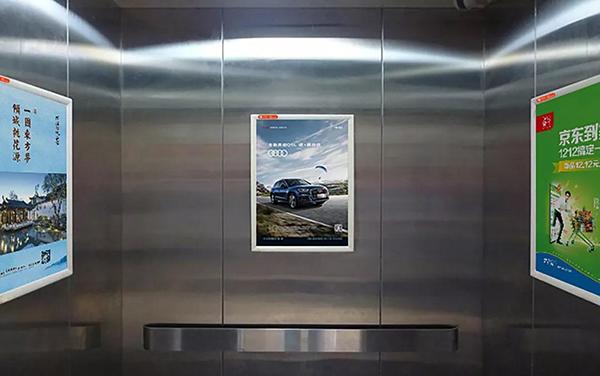 孝感电梯框架广告